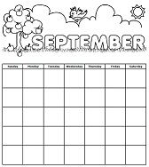 Check out this printable calendar for September!