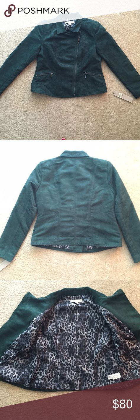 "Laura Ashley Green Jacket Laura Ashley. ""Thyme"" color. Gemstone green. New with tags. Never been worn. Shell 100% Polyester. Lining 100% Polyester. Make an offer! Laura Ashley Jackets & Coats"