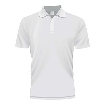 White Polo Shirt Mockup Realistic Style Clothes Clipart Style Icons White Icons Png And Vector With Transparent Background For Free Download White Polo Shirt Plain White T Shirt Polo T Shirt