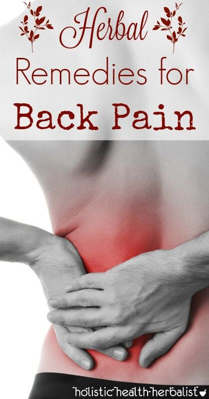 Herbs for Back Pain - Learn about which herbs treat the underlying causes of back pain including sciatica, inflammation, interstitial fluid stagnation, and bone friction.