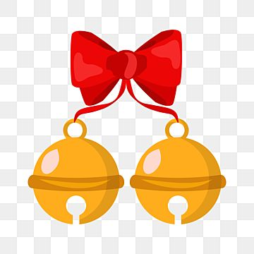 Two Lovely Jingle Bell With Red Ribbon Christmas Design Png Bell Jingle Jingle Bell Png And Vector With Transparent Background For Free Download Christmas Design Red Ribbon Jingle Bells