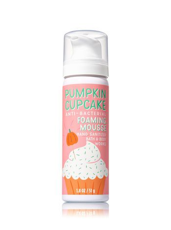 Pumpkin Cupcake Foaming Hand Sanitizer Bath And Body Works