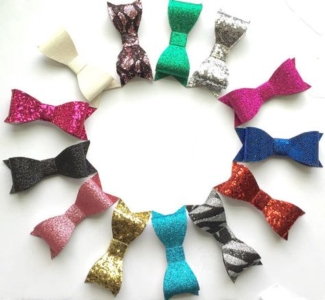 Faux Leather Bows Wholesale Canada | Best Selling Faux