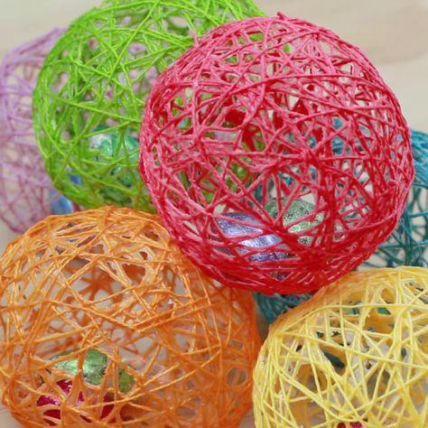 String Art Easter Eggs