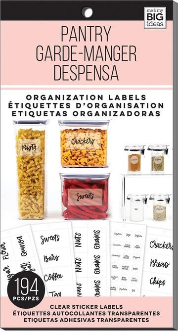 Pantry Organization Labels Clear Sticker Labels Pantry Organization Labels Organizing Labels