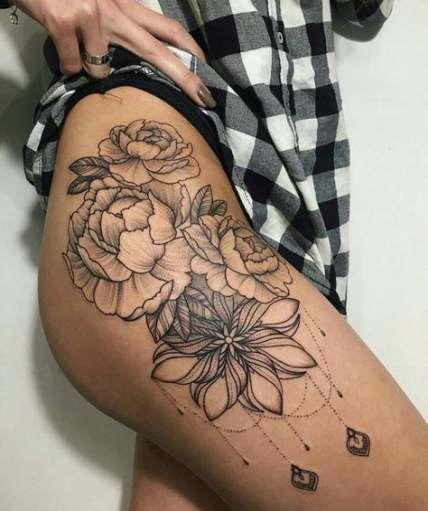 61 Ideas Tattoo Designs Hip For Women Tattoo Thigh Tattoos