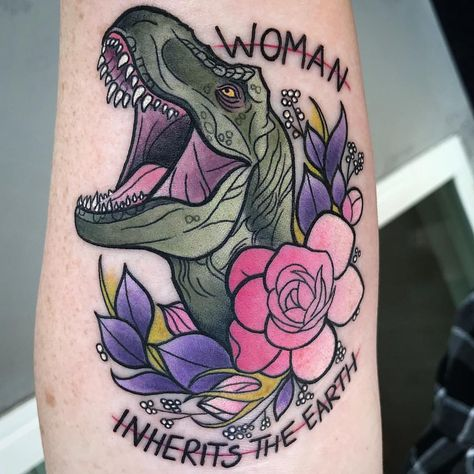 Two of my most favorite things! Plants and of course Tyrannosaur 🦖🌸 Thank you so much Shannon, you are the best!✨ I would love to do more…