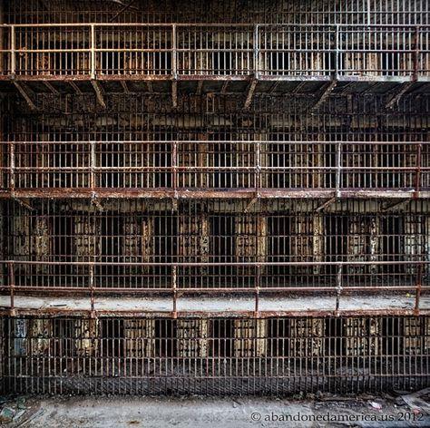 The Old Essex County Jail, Newark NJ - Matthew Christopher's Abandoned America