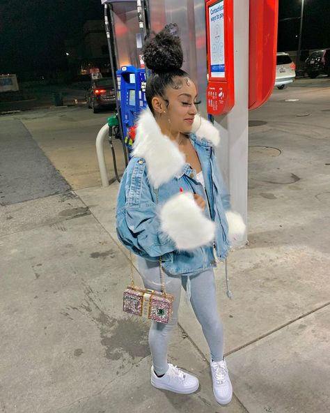 Baddie Outfits Casual, Boujee Outfits, Swag Outfits For Girls, Cute Swag Outfits, Teenage Girl Outfits, Chill Outfits, Dope Outfits, Girly Outfits, Vintage Outfits