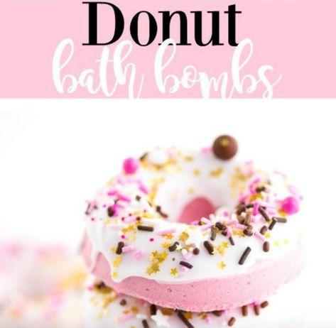 Donut Bath Bomb Recipe - 20 DIY Bath Bomb Recipes To Help Get You Through The Worst Of Winter - Photos