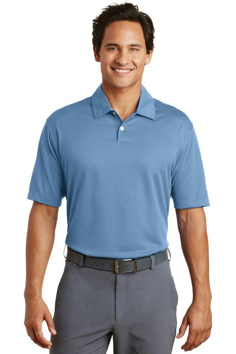 Nike Golf - Dri-FIT Pebble Texture Polo. 373749 Midnight Navy / 4XL