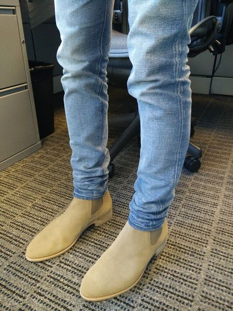Common Projects Chelsea Boots (left) vs