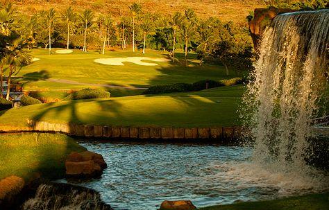 Ko Olina Golf Course.