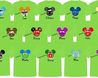 73fd6c65e72a4 CARS Disney Vacation Disney Group Shirts Disney Matching Shirts ...
