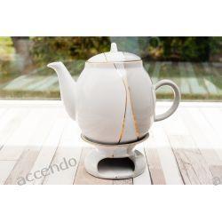 Dzbanek Z Podgrzewaczem 2 Litry Trio Mieroszow Tea Pots Tea Tableware