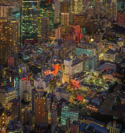 Tokyo with a Hasselblad. #TreyRatcliff #HDR #Night #Cityscape #Japan #mediumformat #hasselblad