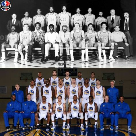 NBA Champs 2015 & 1975 Golden State Warriors