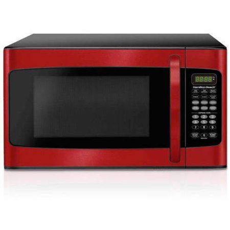 Home In 2020 Compact Microwave Oven Microwave In Kitchen Red