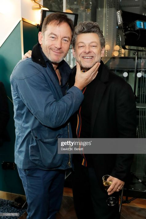 Jason Isaacs and Andy Serkis attend the Into Film Awards at Odeon...