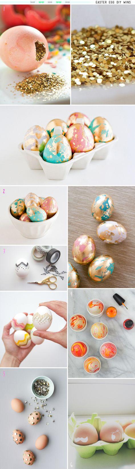 DIY Easter Eggs // theknottybride