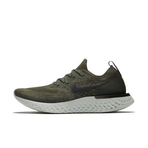 77615c6f6410 Nike Epic React Flyknit Women s Running Shoe Size 10.5 (Cargo Khaki ...