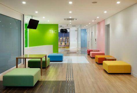 Diseño de interiores para escuelas. School design.