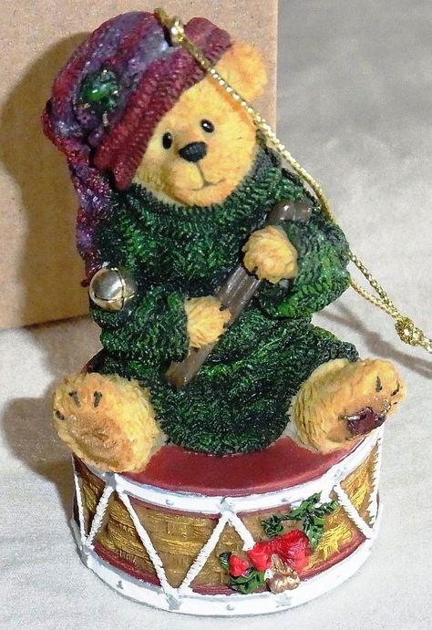 David Drummer Boy...Sounds of the Season-Boyds Bears Ornament #25790LB Longaberger Exclusive