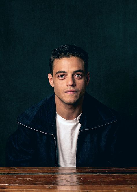 celebritiesofcolor: Rami Malek poses for a portrait at