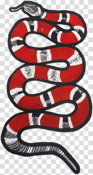 Snake Embroidered Patch Gucci Fashion T Shirt Others Transparent Background Png Clipart Snake Wallpaper Snake Illustration Snake Drawing