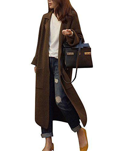 WoolOvers Damen Poncho Oberteil mit Taschen und Rollkragen aus Lammwolle