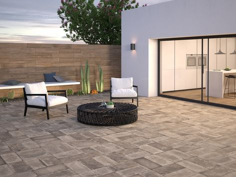 The Perfect Patio. Floor and Wall tile by #interceramic
