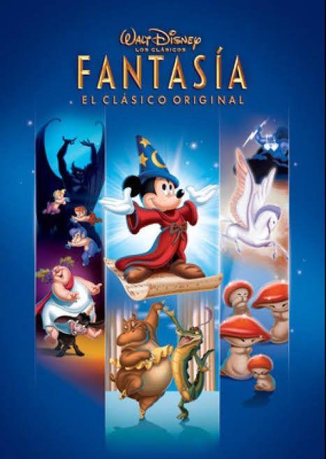 Fantasia 1940 Fantasia De Disney Carteles De Peliculas De Disney Peliculas De Disney