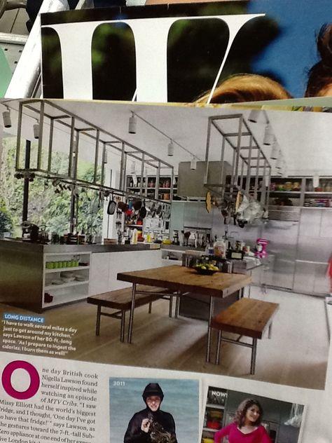 Bon Nigella Lawsonu0027s Set Is A Custom Built Replica Of Her Own Kitchen At Home |  Interior Ideas | Pinterest | Nigella, Kitchens And Interiors