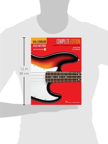 Hal Leonard Bass Method Complete Edition Books 1 2 And 3 Bound Together In One Easy To Use Volume Spiral Bound May 1 1996 M Hal Leonard Book 1 Leonard