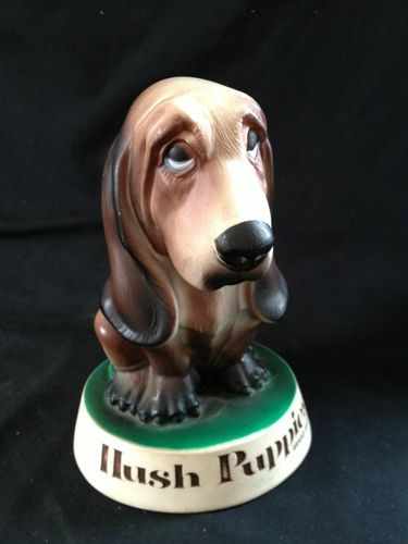 Details About Hush Puppies Shoes Plastic Dog Display Vtg Bassett Hound Counter Figure Ad Hush Puppies Bassett Hound Dogs