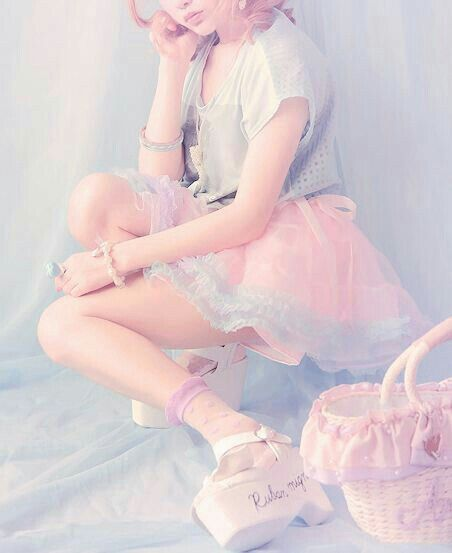 Nice Girl Pastel Goth Fashion Kawaii Clothes Japanese Fashion