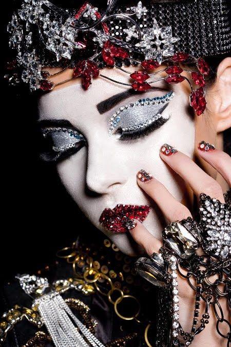 "beautynursedondarkness: "" Make-Up by Lan Nguyen Stylist Rebekah Roy """