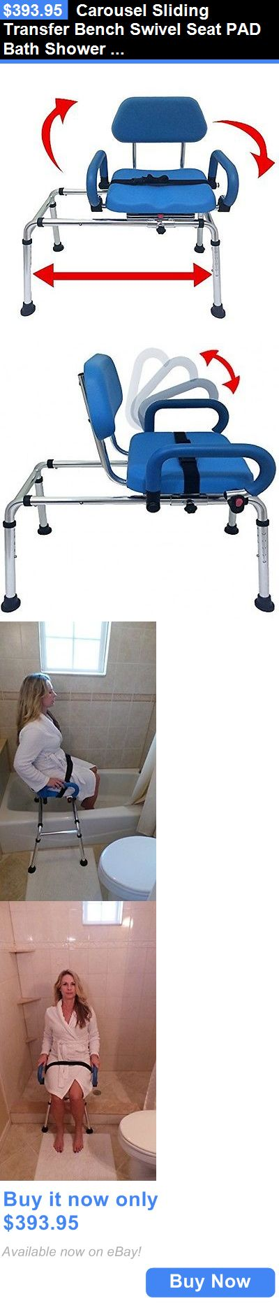 Transfer Boards and Benches: Carousel Premium Padded Sliding Bath ...