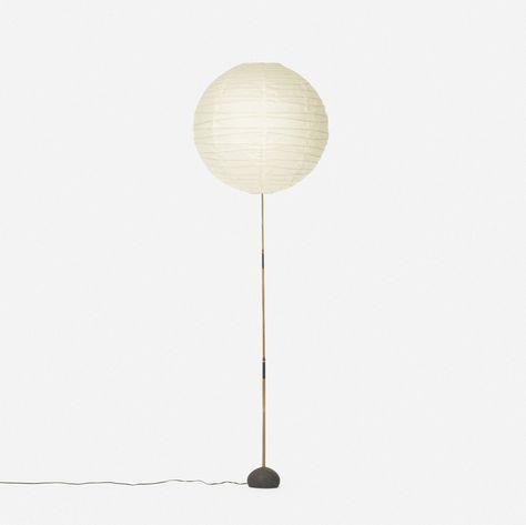 Isamu Noguchi Akari Bb 55dd 1968 Isamu Noguchi Floor Lamp Lamp