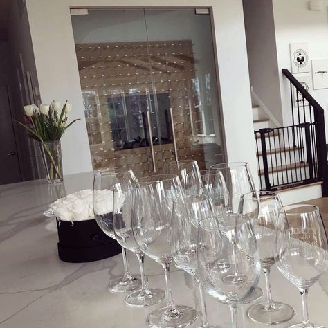 Glass Enclosed Wine Cellars Stact Wine Racks In 2020 Wine