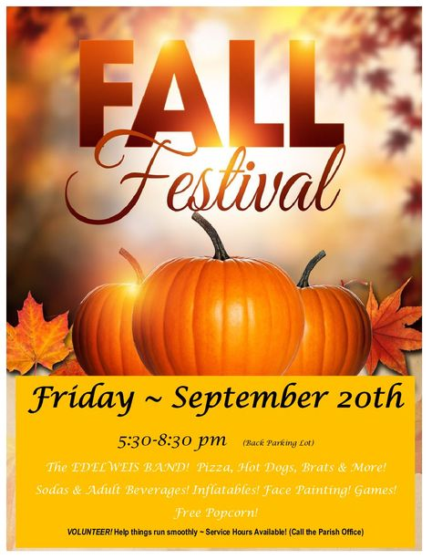 Fall Festival – Blessed Sacrament Catholic Church