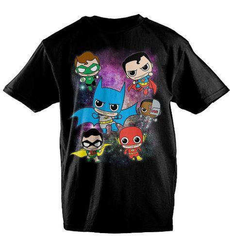 Shirt XL Sons of Gotham JLA Roll Call Adult Ringer T