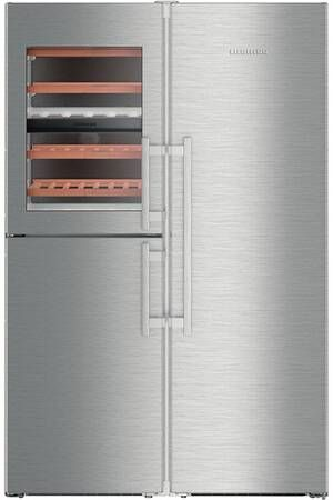 Refrigerateur Multi Portes Liebherr Sbses8486 20 Avec Images Refrigerateur Gros Electromenager Portes
