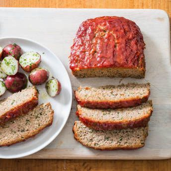 Turkey Meatloaf With Ketchup Brown Sugar Glaze America S Test Kitchen Recipe Turkey Meatloaf Recipes Turkey Meatloaf Recipes