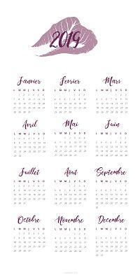Calendrier 2019 Bullet Journal.12 Flowery Calendar 2019 For Bujo Diy