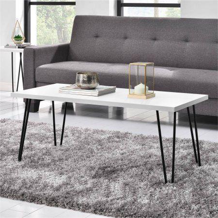 Sensational Mainstays Retro Coffee Table Multiple Colors Dh Office Machost Co Dining Chair Design Ideas Machostcouk