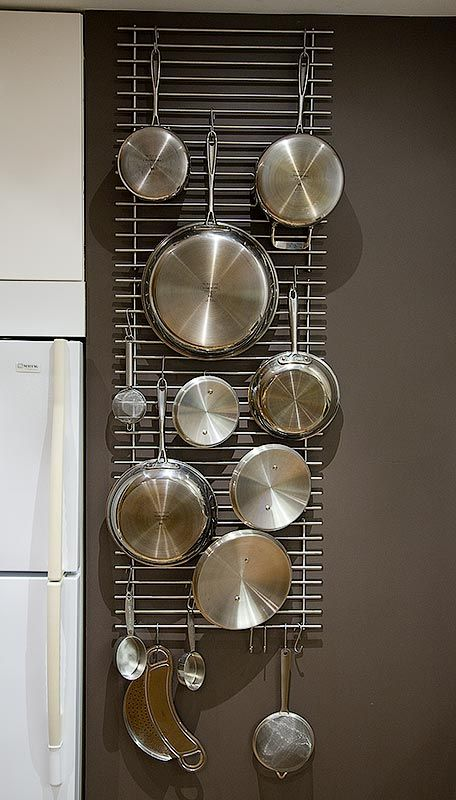 the idea of hanging pots and pans from the wall (can't have ... Pots And Pans Kitchen Diy Ideas on living healthy pots and pans, ikea pots and pans, organizing pots and pans, cyber monday pots and pans, go green pots and pans, window display pots and pans, repurposed pots and pans, cooking pots and pans, repurpose pots and pans, high end pots and pans,