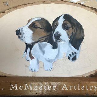 Progress Of These Two Beagle Pups Potter And Magnolia Beagle
