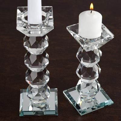 7 Gemcut Crystal Glass Votive Candle Holder In 2020 Crystal Candle Holder Candle Holders Glass Votive Candle Holders