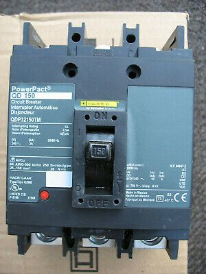 Sponsored Ebay Square D Qdp32150tm 150 Amp 240 Volt 3 Pole Powerpact Circuit Breaker Grand Haven Breaker Panel Circuit